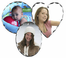 CUSTOM PHOTO ALUMINUM PENDANT JEWELRY -THREE STYLES-YOUR PICTURE