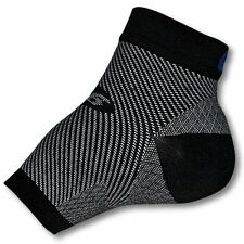 FS6 Foot Compression Sleeve for Plantar Fasciitis - PAIR - ALL Sizes -Wht or Blk