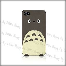 My Neighbor Totoro Fun Cover Hard Case Made For Iphone 4 / 4s / 5 Black - White