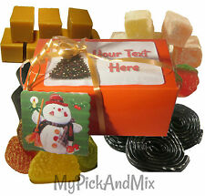 Vegetarian Sweets Boxed & Gift Wrapped With FREE Gift Tag & Personalise For FREE