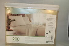 New JC Penney Smooth Touch Home Collection 200 Count Twin Sheet Set