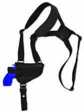 "Barsony Gun Concealment Horizontal Shoulder Holster for Ruger 2"" Revolver 38 357"