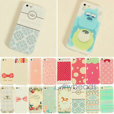 Phone Hard Back Skin Case Cover Various Pattern for Apple iPhone4 4S 5 5S 5C New