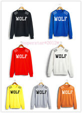 KPOP EXO XOXO WOLF GROWL MAMA FROM PLANET SWEAT HOODIE SWEATER LUHAN KRIS NEW