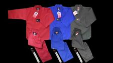 KANKU new Taekwondo Uniforms Blue Red Black Ribbed 7.5oz Adult and Kids WTF