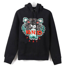 Fashion Long Sleeve Women Tiger Sweater Jumper  Embroidered Sweatshirt Pullover