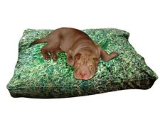 New & Unique Grass Dog Bed ! Bring The Outdoor In .You And Your Dog Will Love It