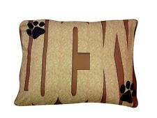New & Unique Your Dogs Name Dog Bed .Add Your Dogs Picture ! You Will Love It .