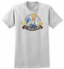 St. Pauli Girl Beer T-shirt. Gray,Khaki,White,Yellow. Size: S-XXXL. Free Ship US