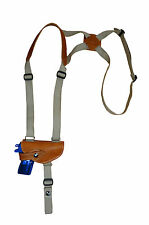 NEW Barsony Tan Leather Shoulder Holster Colt, Browning Mini-Pocket 22 25 .380