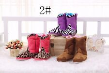 Women's lady fuzzy winter snow boots warm good looking for girls