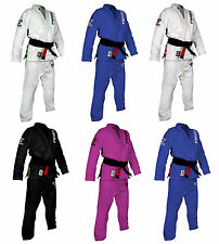 Raven Fightwear Pearl Weave BJJ Gi - Various Colours and Sizes
