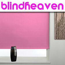 BLACKOUT ROLLER BLINDS / HIGHEST QUALITY MADE TO MEASURE PRODUCT NEW 29 COLOURS