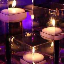 6 Floating Candles for Wedding Party Table Centerpiece 19 Color Choices