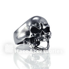 High Quality Men's 316L Stainless Steel Skull Ring  SIZE   9 11 12 13 mssr27