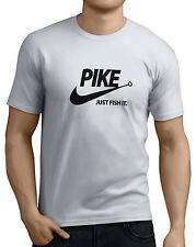 Pike Just Fish It Mens Funny Pike Fishing T-Shirts 14 Colors All Sizes.