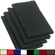 12 NEW SPUN POLY POLYESTER NAPKINS 20X20'' RESTAURANT WEDDING CATERING NAPKINS