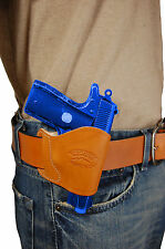NEW BarsonyTan Leather OWB Yaqui Holster SIG, Walther Small 380 UltraComp 9 40