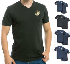 US Military V-Neck Army Air Force Coast Guard Marines Navy Tee T-Shirt T-Shirts