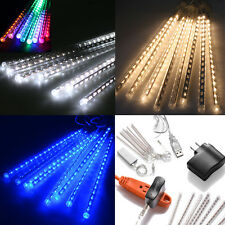 Meteor Shower Rain Amazing LED Tube String Christmas Xmas Light Decoration Tree