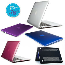 Plastic Crystal Hard Skin Cover Case for Apple MacBook Air / Pro Retina Display