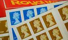 1st 2nd Class Large Letter Stamp Books Royal Mail Brand New 12 x 6 x 4 x Items