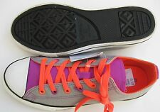 New Converse CT All Star Double Tongue OX Shoe Junior Sizes 641191F Pick Sz