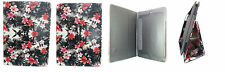 FLORAL FLOWER BOOK LEATHER CASE STAND COVER POUCH FOR APPLE IPAD AIR IPAD 5