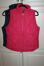 NWT J. Crew Excursion Quilted Puffer Vest, SIZE XS, S, M, L, XL