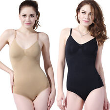 Seamless Full Bodysuit Shaper Ladies Stretch Leotard Slimming Shapewear Girdles