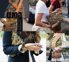 Fashion Women New Design Dazzling Glitter Sequins Party Evening Bag Wallet