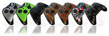 Controller Skin For XBOX ONE 1 Carbon Matt Leather Wood Metal Decal Cover Wrap