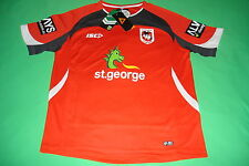 St George Illawarra Dragons 2014 Red Training Tee S - 3XL T-Shirt ISC SALE