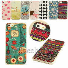 Various Painted Pattern Hard Back Skin Case Cover for Apple IPhone 4 4S 5 5S 5C