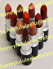 MAC MATTE Lipstick Choose From 16 Colors New in Box Unseal Authentic Chili Diva