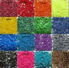 RUBBER BAND REFILL FOR RAINBOW LOOM - DIY - 100 BAND AND 200 BAND PACKS!