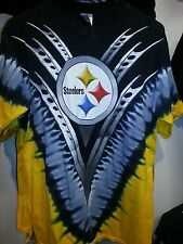 PITTSBURGH STEELERS  Tie Dye V Dye T-Shirt NFL LICENSED APPAREL