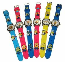 DESPICABLE ME MINION WATCHES 3D STYLE - GREAT PRICE MUST HAVE!