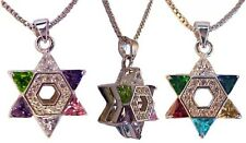 Jewish necklace * earring * ring * Israel * Star David * High Priest * sterling