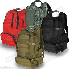 Tactical FIELD OPERATOR'S ACTION PACK -  Padded/Ventilated Book-Bag, 22 x 16 x 9