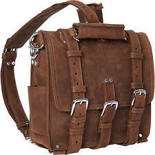 "Vagabond Traveler 13"" Medium Cowhide Leather Backpack i Pad Laptop Bag L13-LCB"