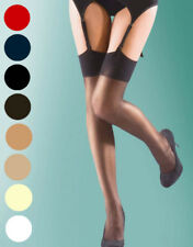 Super Shine Ladies Gloss Stockings ~ Silky One size ~ 15 Denier ~Various Colours