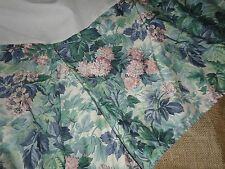LAURA ASHLEY ASHBOURNE CAL KING, TWIN, FULL OR QUEEN BEDSKIRT GREEN FLORAL 13""