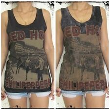 **Unisex Red Hot Chili Peppers Vest** Tank Top Singlet T-Shirt Sizes S M L XL