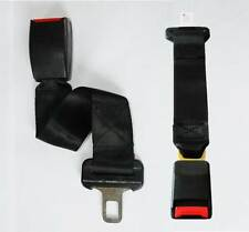 Seat Belt Extension (21.5 & 25mm Clip Tongue) Extender Car Vehicle Strap Buckle