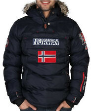 Giubbino GEOGRAPHICAL NORWAY giubbotto imbottito Jacket Uomo Men tecnico Hooded