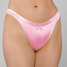 Pink Low Contour Satin Gaff For Crossdressing Men - Trans Hiding, Tucking Panty