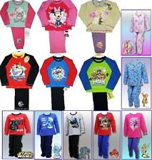 Pyjamas Disney Princess Marvel Minnie Tinkerbell Batman Tatty Teddy Long GIFT