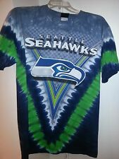 SEATTLE SEAHAWKS  Tie Dye V Dye T-Shirt NFL  NEW SHIRT WITH TAGS LICENSED NFL