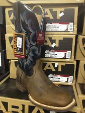 Ariat Western Boots Mens Tombstone Cowboy Earth Black 10011785 IN STOCK